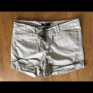 Mossimo khaki colored shorts